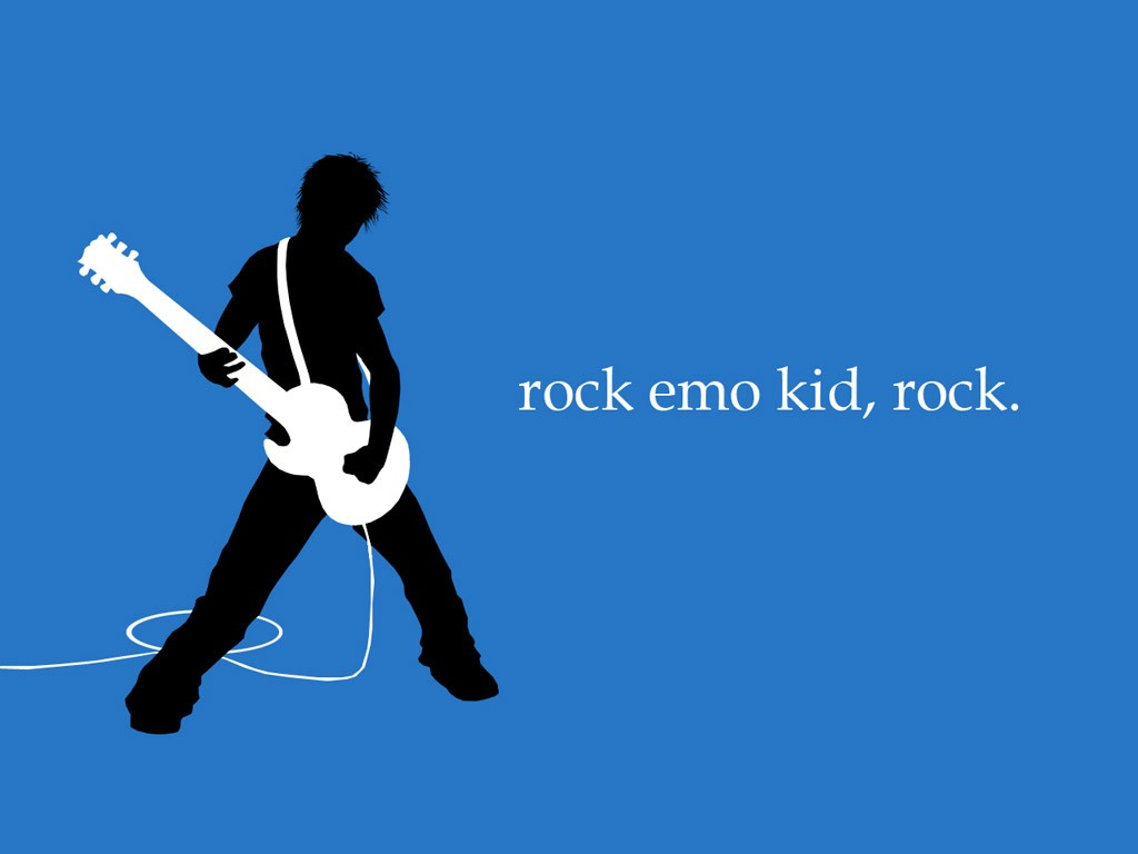 Solo on electric guitar wallpapers Emo
